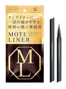 Mote Mascara Japan - Furofushi Mote liner Liquid TAKUMI Bk-R (jet black) liquid eyeliner by Mote Mascara