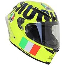 AGV – Casco de moto Corsa R E05,edición limitada, Rossi Mugello 2016, talla S