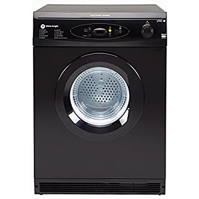 White Knight C86A7B 7kg Freestanding Vented Tumble Dryer - Black from White Knight