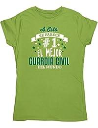 HippoWarehouse A Esto Se Parece #1 El Mejor Guardia Civil Del Mundo camiseta manga corta