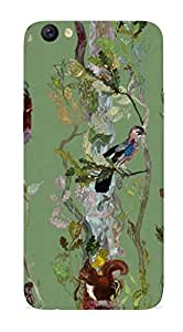 MJR Mobile Back Case with Freebie worth rs.125 for oppo F3 (Printed)