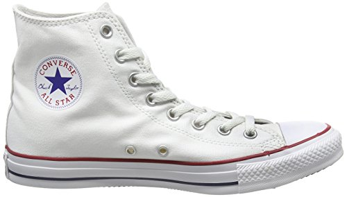 Converse Ctas Core Hi, Baskets mode mixte adulte Blanc (Blanc Optical)