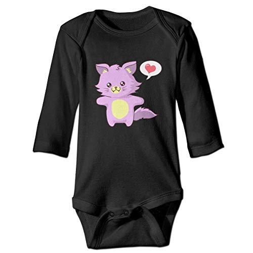 Kostüm Kind Taco - Daisy Evans Rosa Katze Baby Body schöne Strampler aus Baumwolle Strampler Kostüm, 2 t