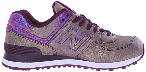 SPORT SHOE PURPLE MGA NEW BALANCE WL574 Violett