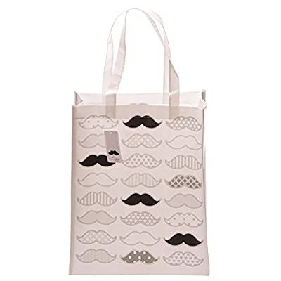 Ted Smith Moustache Design Shopping Bag