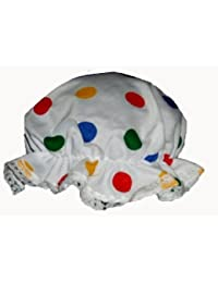 Multi Colour Polka Dot fancy dress hats n caps (Pudsey Mop Hat, Teddy Bear Size)