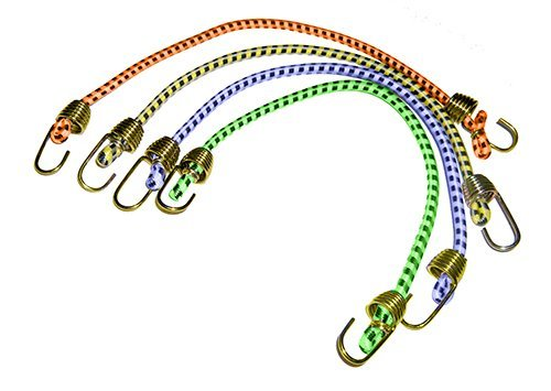 Keeper 06051 10 Mini Bungee Cord, 4 Pack by (Keeper Bungee)