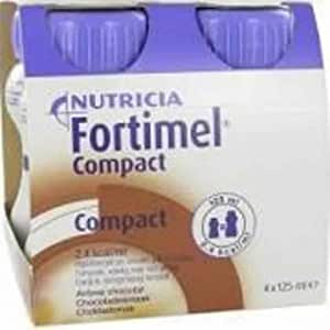 Nutricia Fortimel compact chocolat 4 125ml