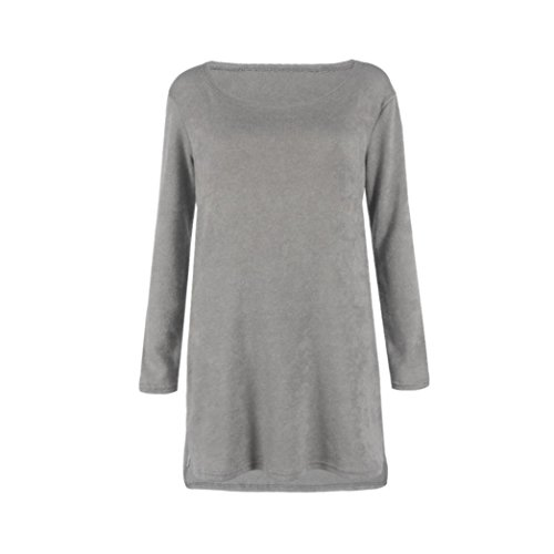 Lolittas Automne Hiver Femmes Side Zip Chunky tricoté Cardigans Baggy Sweater Jumper Tops Robe Gris