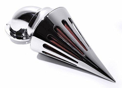 Luftfilter Kit Performance Spike Rocket Chrom für Harley Davidson Vergaser EVO