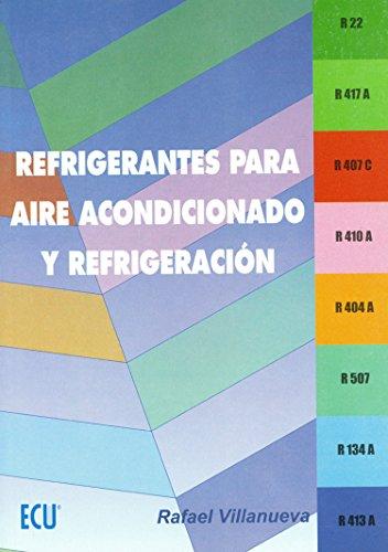 Refrigerantes para aire acondicionado y refrigeración por Rafael Villanueva Manresa