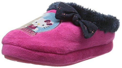 Hello Kitty HK Gideal Mädchen Pantoffeln Pink (21)