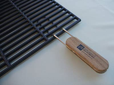 Grillrostprofi Gusseisen-Grillrost 54 x 34 cm mit abnehmbaren Handgriffen