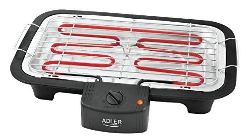Adler Elektrogrill AD 6601, schwarz