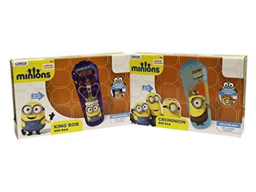 Aufblasbares Stehaufmännchen aus dem Minions Film, Boxsack, schwankendes Indoor Outdoor Spielzeug aus Ich–Einfach Unverbesserlich CROMINION