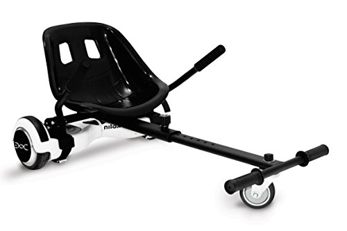 Nilox Doc Kart 2, Black, One Size