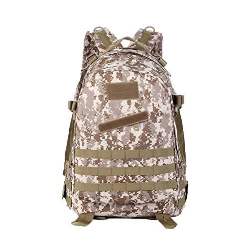 Llde mimetico zaino impermeabile grande capacità zainetti militari backpack uomo rucksack outdoor campeggio borsone
