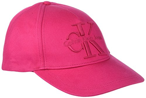 calvin-klein-jeans-re-issue-cotton-cap-cp-berretto-donna-rosa-bright-rose-640-taglia-unica-taglia-pr