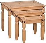 Corona Pine Nest of Tables