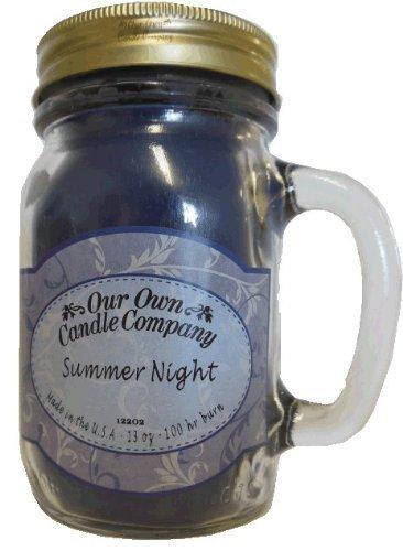 Summer Night Duft 13Unze Mason Jar Kerze von unseren eigenen Candle Company