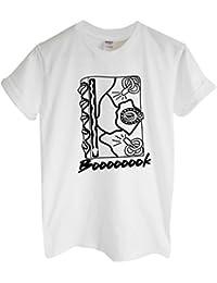 Rock Paper Sisters Unisex Slogan T-Shirt: Boooooook