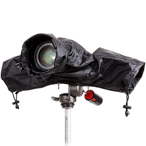 Digitale Spiegelreflexkameras Regenschutz, Regenfeste, Wasserdichte Kamera Protector mit Gummiband für Mittellanges Objektiv (T3i Canon Rebel Eos Flash)