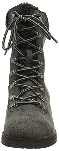 Rocket Dog WEEKENDER Damen Biker Boots Schwarz (BLACK AG7)
