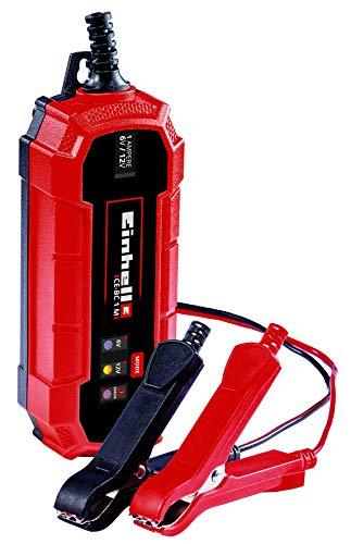 Einhell Batterie-Ladegerät CE-BC 1 M (intelligentes Batterieladegerät mit Mikroprozessorsteuerung für verschiedenste Batterietypen, bis zu max. 32 Ah, max. 1 Ampere Ladestrom)