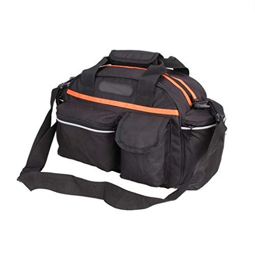 MDZZ Hinten Tasche, Heckrahmen Mountainbike Rückentasche Folding Bike Shelf Bag Reiten Kamel Tasche Rücksitz Tasche Kann Gepäck Tasche