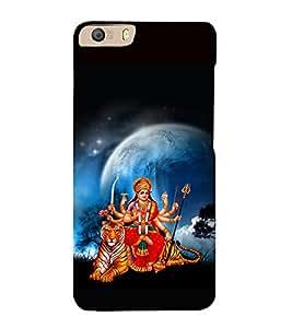 printtech Shera Wali Mata Goddess Back Case Cover for Micromax Canvas Knight 2 E471