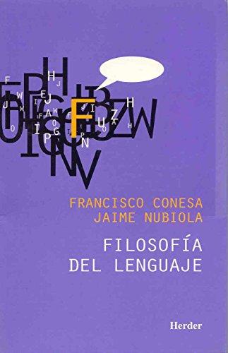 Filosofía del lenguaje por Francisco Conesa