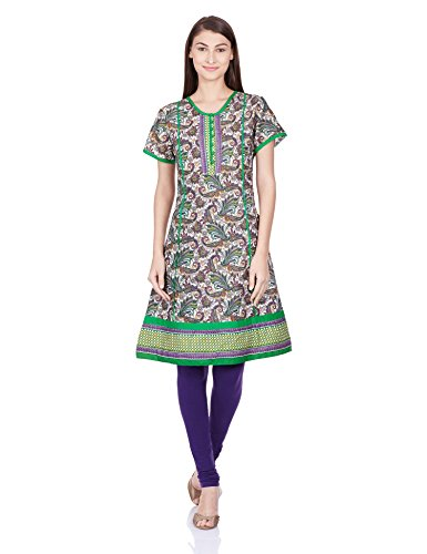 Juniper Women's A-Line Kurta (30303PURPLE_Small)