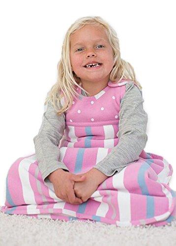 merino-kids-winter-sherpa-weight-baby-sleep-bag-for-toddlers-2-4-years-pink-blue