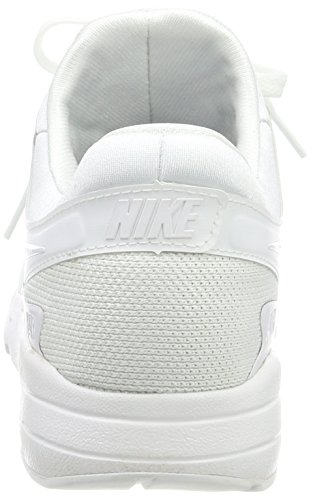 Nike Air Max Zero Essential, Sneakers Basses Homme Blanc (White/White-Wolf Grey-Pure Gris Platinum)