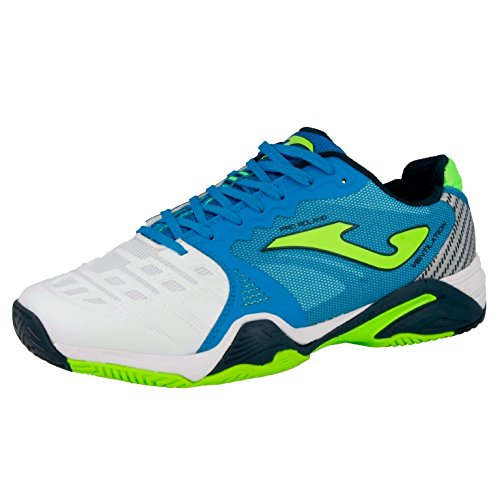 JOMA T_PROLAS_702 SCARPE RUNNING T.PRO ROLAND ALL COURT 702 BIANCO-ROYAL Shoes Bianco-Royal