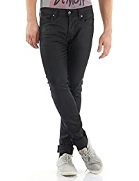 Selected Shnonefabios Unwashed Black St-jean Noos - Jeans - Skinny - Homme