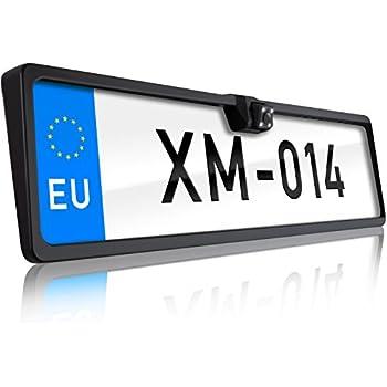 Sniper Automotive UK/EU Number Plate Reversing Camera with
