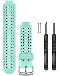 Garmin Wechselarmband für Forerunner 230/235/630 - blau/schwarz, One Size