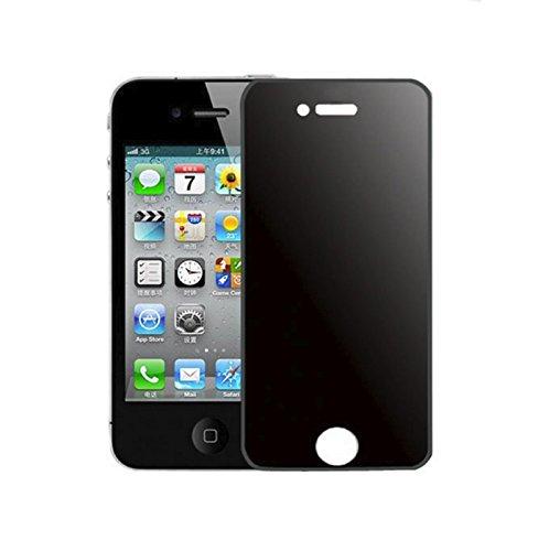 Alltech Geräte, für Apple iPhone 4/4S, Sichtschutz Antispionage gehärtetem Glas Displayschutzfolie Shield, Retail Box (Sichtschutz Iphone 4s)
