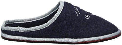 Tom Tailor 3781801, Pantofole Uomo blu (navy)