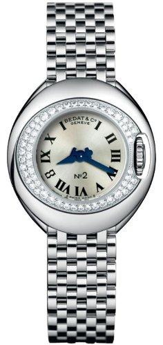 Bedat No. 2 Stainless Steel & Diamond Womens Luxury Swiss Watch 227.031.600