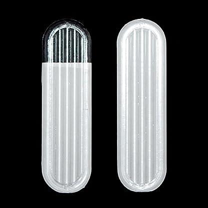 2 x Clear Sliding Glass Door Finger Pulls 1