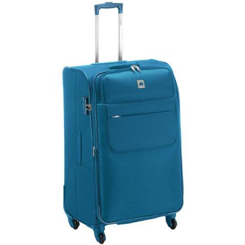 Delsey Luce Del Patto Di N 4 - Roll Trolley 65 Centimetri Espandibili, blau