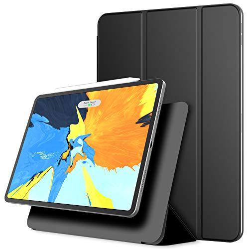 JETech Magnetisch Hülle für iPad Pro 11 Zoll (Modell 2018), Unterstützung für Apple Pencil 2. Generation Aufladung, Magnetische Befestigung, Abdeckung mit Auto Schlafen/Wachen