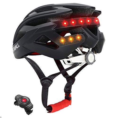 Livall BH60SEPLUS 2018 Smart-Bike-Bluetooth-Helm mit kabelloser Lenkerfernbedienung, Schwarz Bike Bluetooth