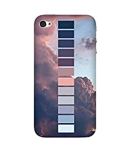 Shades Of Thunder Apple iPhone 4/4S Case