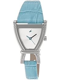 Fastrack Fits & Forms Analog Silver Dial Women's Watch -NK6095SL01