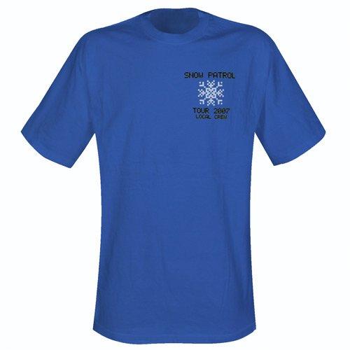 T-Shirt - Local Crew [Size L] - blau (Shirt Local Crew)