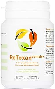 Cure mensuelle ReToxan detox Complex | Détoxication et perte de poids vont de pair