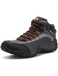 tqgold Scarpe da Trekking Uomo Donna Impermeabile Scarpe da Escursionismo  Sneaker Sportive Esterne Scarpe da Arrampicata efbcd3a4ceb